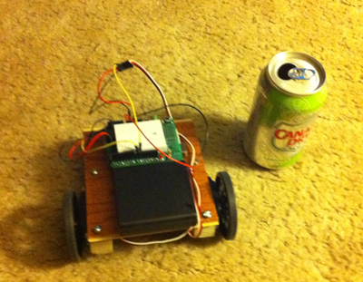 Robot front view